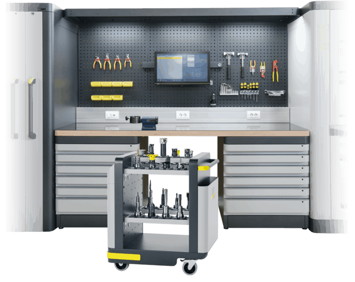 smart cabinets - preset your tools